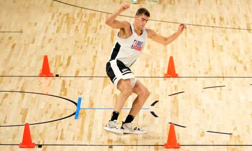 Luka Garza held back at NBA Combine because of injury