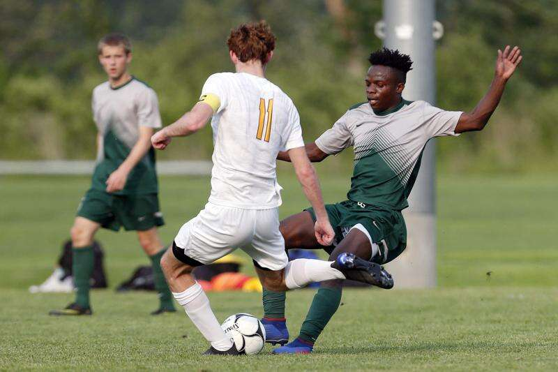 Iowa City West boys' soccer begins chase for state title with 2-1 victory over Ankeny