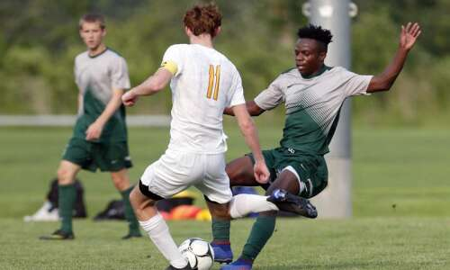 Iowa City West boys' soccer begins chase for state title…