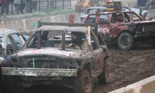 Jive radio, tractors, and demolition derby