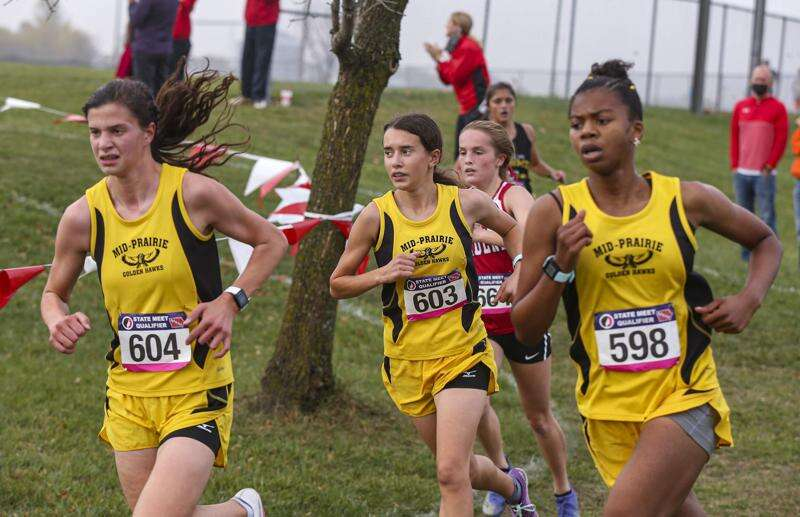 Fast and faithful, Mid-Prairie dominates 2A state cross country qualifier