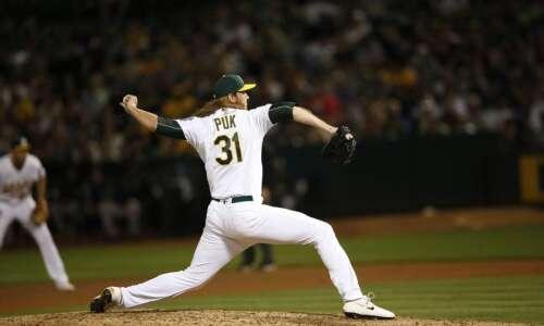 Cedar Rapids native A.J. Puk will have season-ending shoulder surgery,…