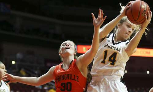 Photos: Springville vs. Algona Garrigan, Iowa Class 1A girls' state…