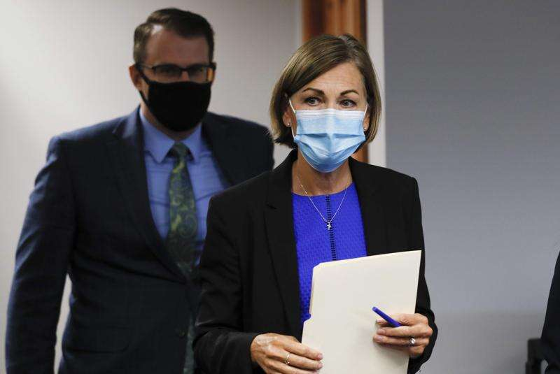 Hundreds of doctors urge Iowa Gov. Kim Reynolds to mandate masks