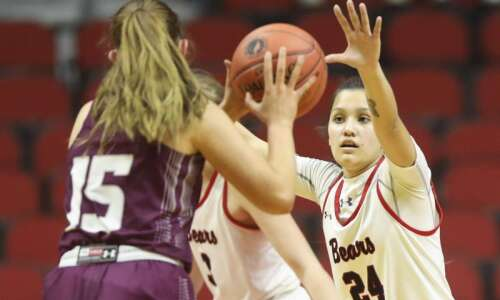 Photos: West Branch vs. Grundy Center, Iowa Class 2A girls'…