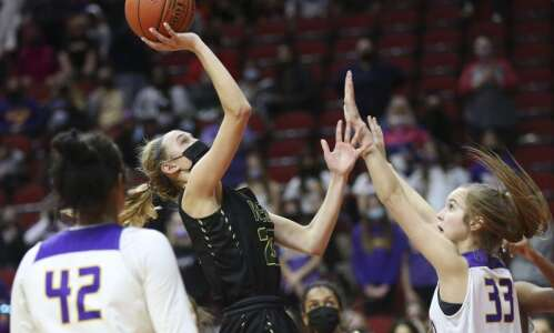 Defending 5A champion Johnston sidelines Iowa City West at girls'…
