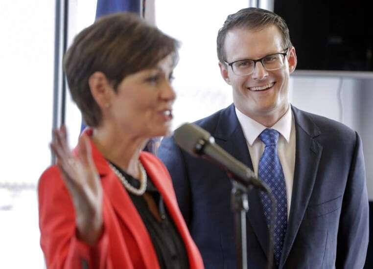 Adam Gregg rides 'rocket ship' to Iowa lieutenant governorship