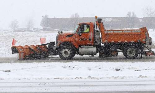 Snow, ice expected Tuesday