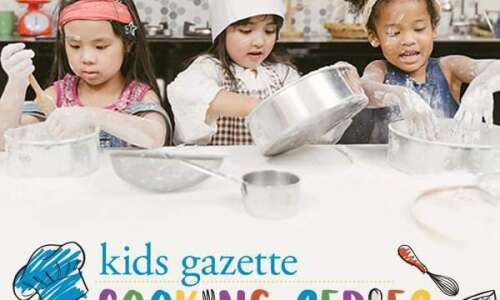 Kids Cooking Series - April