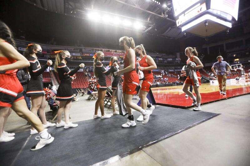 Photos: Springville vs. Algona Garrigan, Iowa Class 1A girls' state basketball quarterfinals