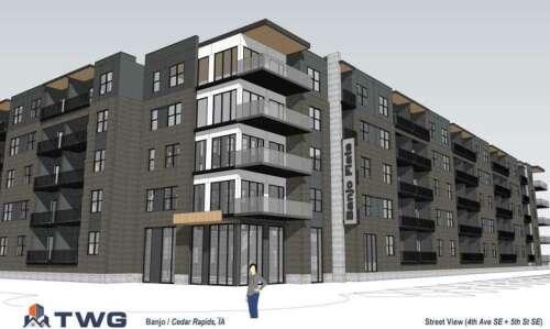 Cedar Rapids council backs plan for $51M, 5-story complex downtown