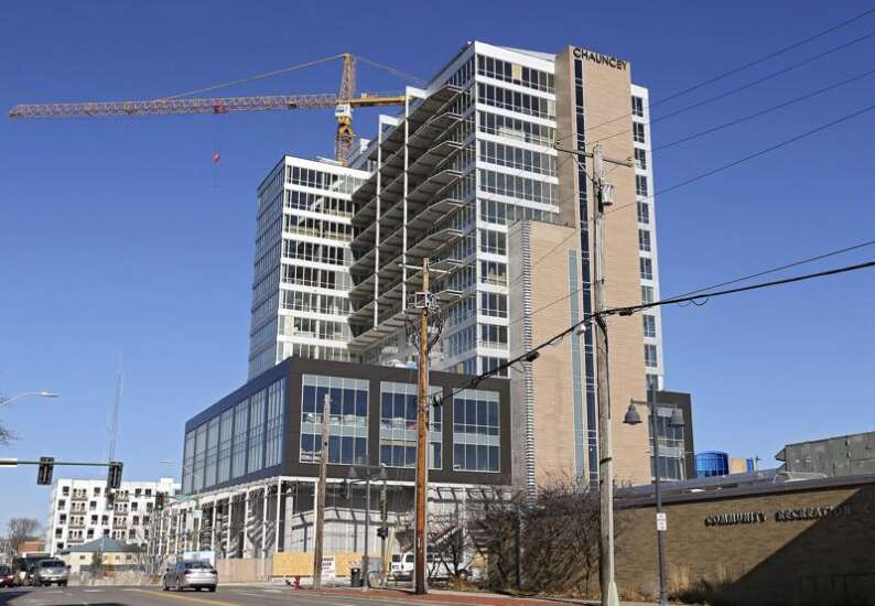 Chauncey tower one of four major Iowa City developments opening in 2019