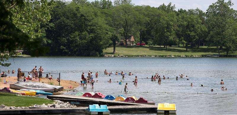 Lake Macbride beach had no-swim warnings for majority of the summer