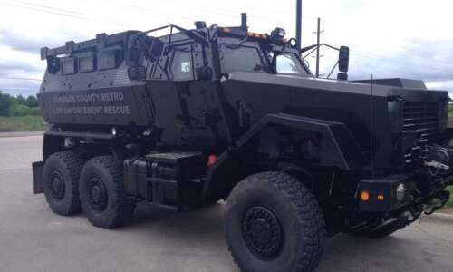 Johnson County keeping military vehicle with no rules to govern…