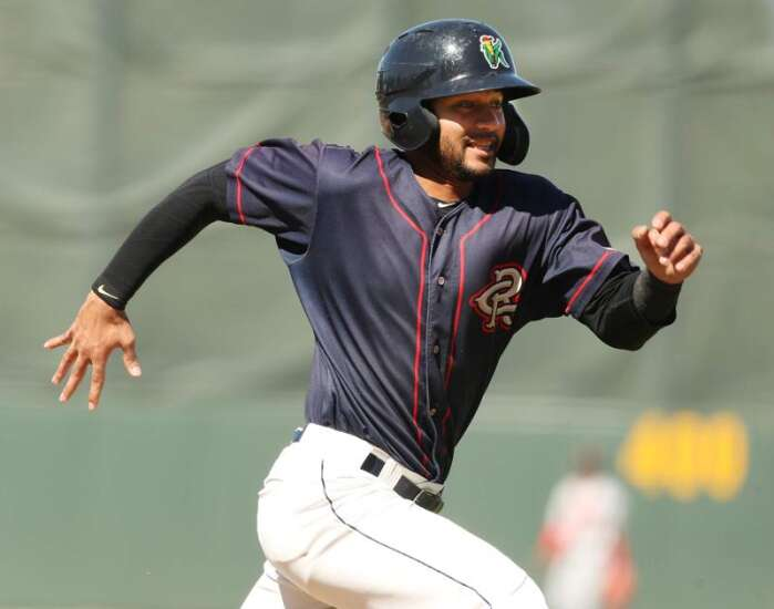 Gilbert Celestino's production continues to surge as he plays every day for Cedar Rapids Kernels