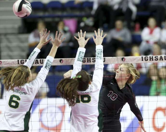 Photos: Western Christian vs. Dyersville Beckman, Iowa Class 2A state tournament championship