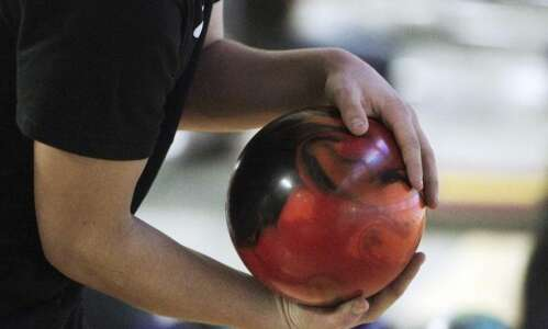 A special night for local bowler Justin Wyant
