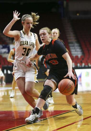Photos: Class 3A Girls' state basketball quarterfinals: Waukon vs. Clear Lake