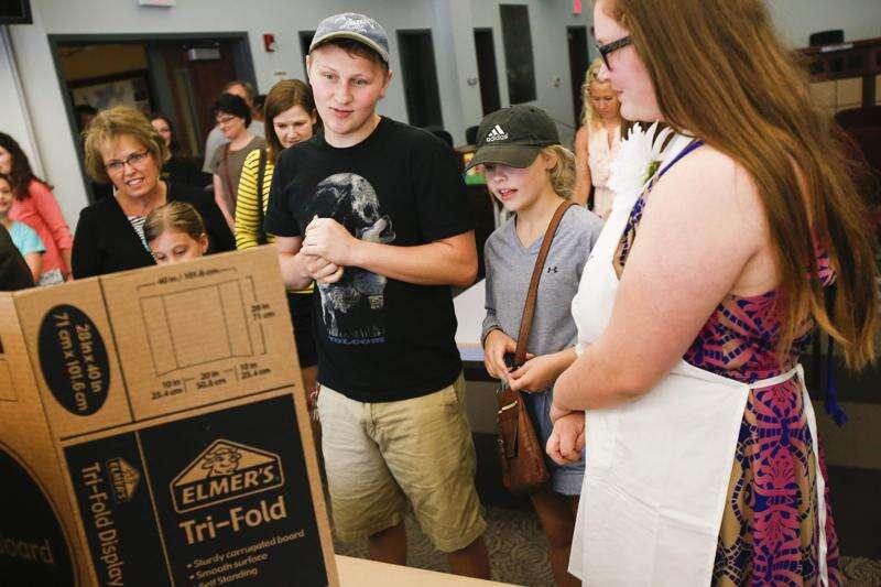 Business camp inspires kids