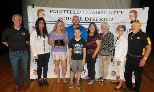 Myers named Fairfield Teacher of Year