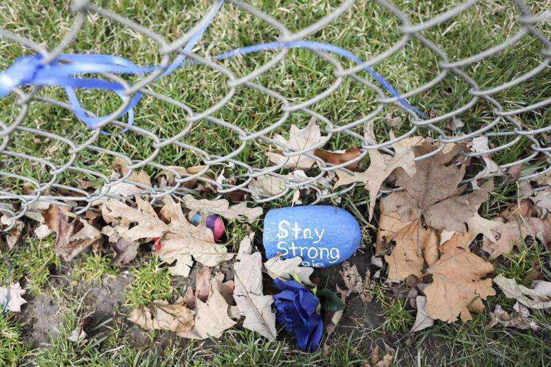 Photos: A shrine of hope for Maggie McQuillen