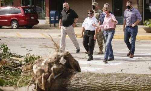 Gov. Reynolds declares disaster in 20 Iowa counties after derecho