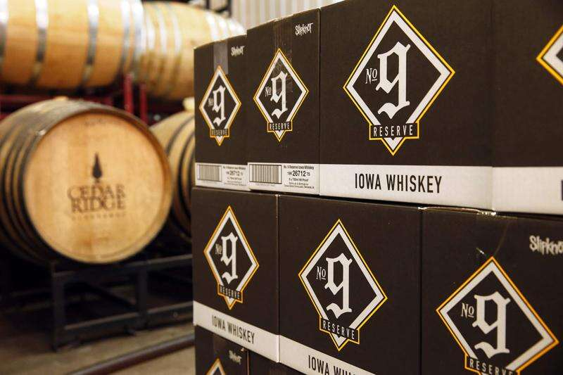 Iowa distilleries want permanent whiskey tax cut, after close brush with 400-percent tax hike