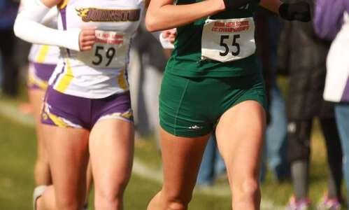 Iowa City West's Bailey Nock caps girls' cross country career…