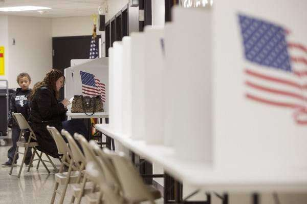 Column: Is it safe to vote at school?