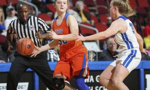 Photos: Jesup vs. Dike-New Hartford, Iowa Class 3A girls' state…