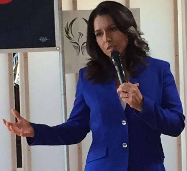 For Tulsi Gabbard, 'wasteful' foreign policy at root of all other issues