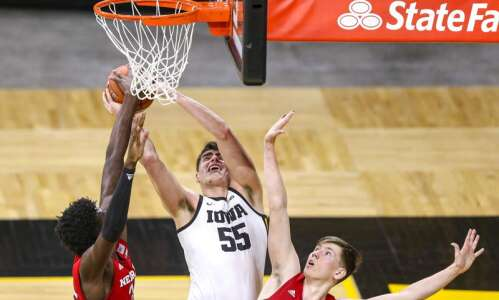 Photos: Iowa men's basketball vs. Nebraska