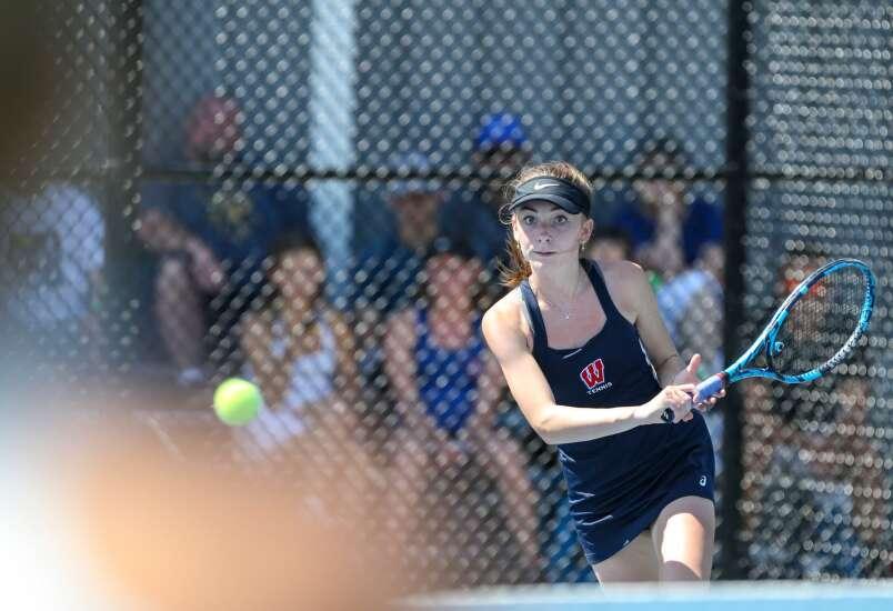 Photos: Iowa high school Class 2A girls' state tennis meet