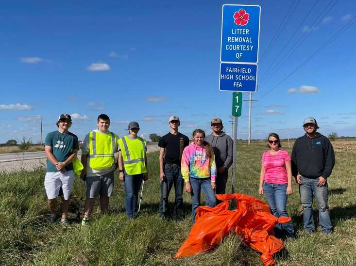Fairfield FFA 'adopts' a highway