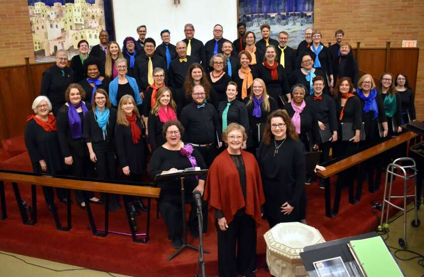 Quire of Eastern Iowa finds new way to share its story