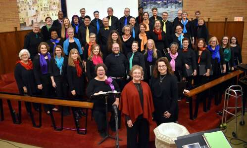 Quire of Eastern Iowa finds new way to share its…