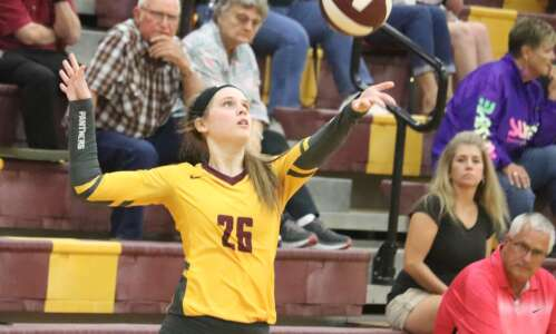 Mt. Pleasant leads at SEC volleyball tournament