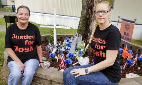 Widow looks for answers year after Hiawatha shootout