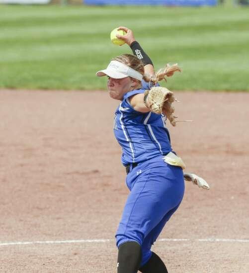 Photos: North Linn vs. Central Springs, Class 2A Iowa high school state softball semifinals
