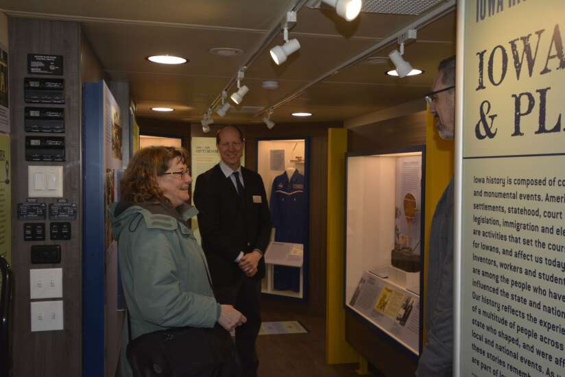 State Historical Society's mobile museum bringing new exhibit to Iowa's 99 counties