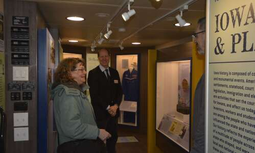 Mobile museum bringing new exhibit to Iowa's 99 counties