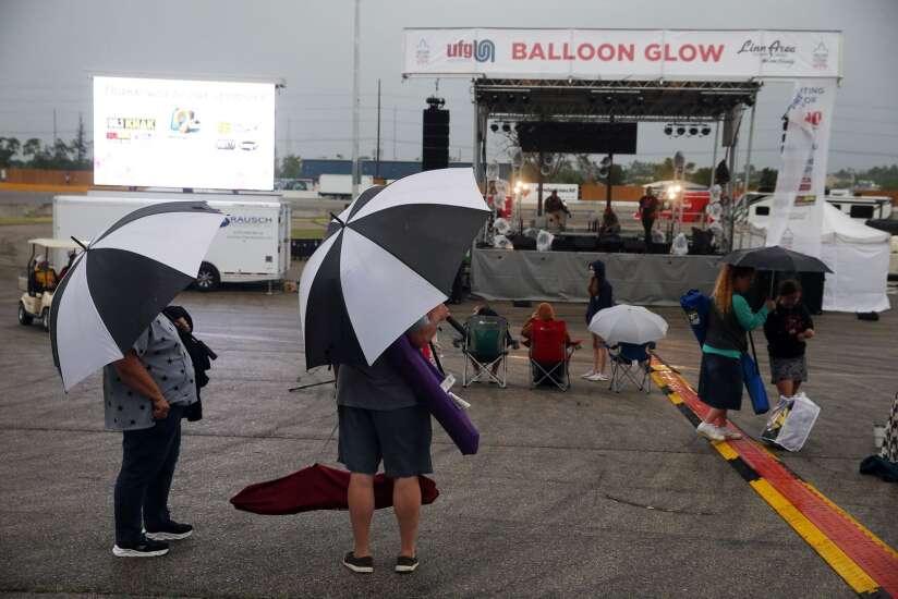 Photos: Rain delays Balloon Glow as Freedom Festival returns
