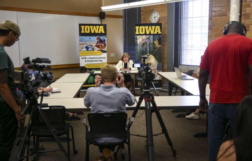 New University of Iowa president 'forward facing' as she begins her tenure