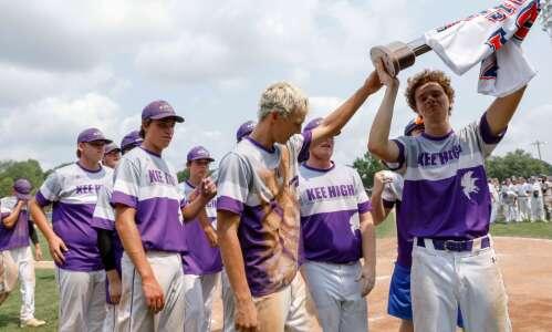 St. Albert holds off Lansing Kee for 1A baseball title