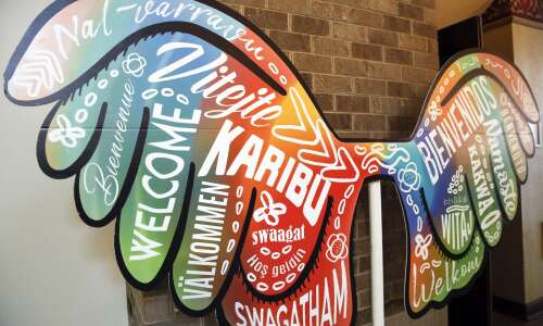 Cedar Rapids celebrates Welcoming Week with special art installations