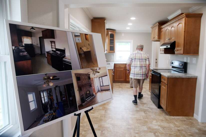 Now for sale: Marion home revamped by students