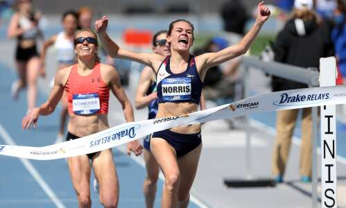 Sandi Morris makes Drake Relays history with 5th straight pole…
