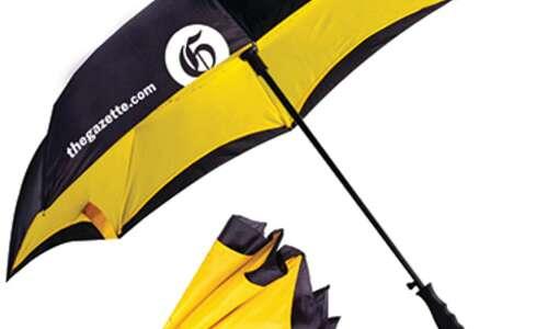 Enter to win a Gazette umbrella!