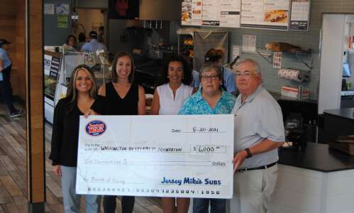 Jersey Mike's donates $6,000 at grand opening ceremony