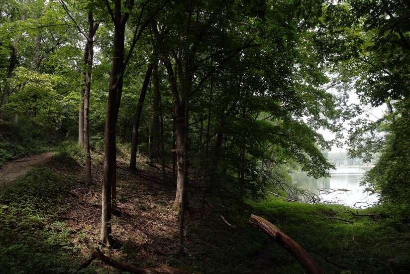 Hiking Lake Macbride